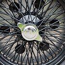 Alfa Romeo Spoked Wheel 2 by Flo Smith