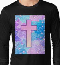 Vanilla cross Long Sleeve T-Shirt