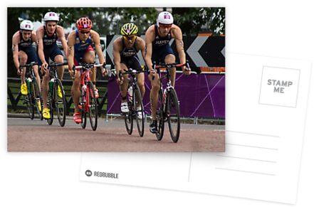 London 2012 Triathlon, Hyde Park - Tag der Brownlees Jungs !!! von Cliff Williams