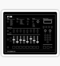 HipHop Classics: SP1200 Sticker