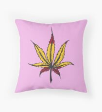 Cannabis leaf  Throw Pillow