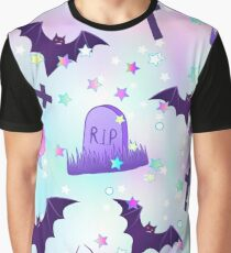 Kawaii funny spooky pattern Graphic T-Shirt