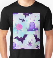 Kawaii funny spooky pattern Unisex T-Shirt