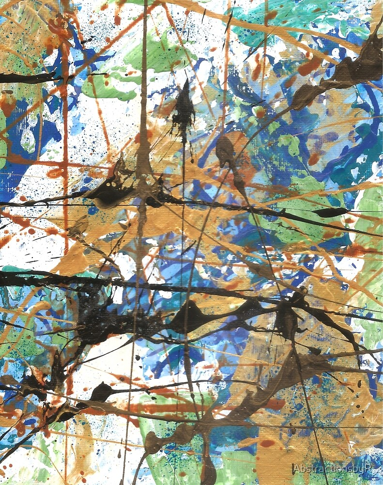 Palette Knife Series 20 by AbstractionsbyR