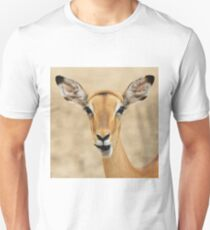 Impala Fun - Wildlife Humor from Africa.  Unisex T-Shirt
