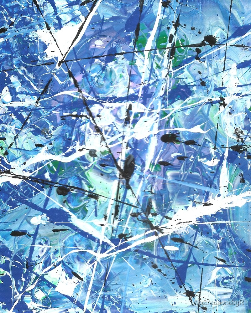 Palette Knife Series 16 by AbstractionsbyR
