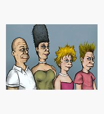 The real simpsons Photographic Print