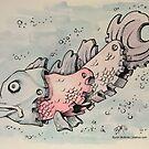 A Rare Gear Fish by Byron  McBride
