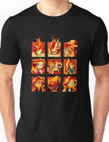 Forms of Sunset Shimmer Unisex T-Shirt