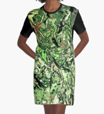 modern camo pattern 16 Graphic T-Shirt Dress