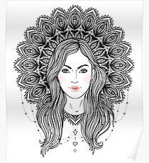Tribal Fusion Boho Diva Poster