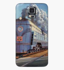 On the level crossing 1950. Case/Skin for Samsung Galaxy