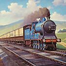 Caledonian 4.6.0 heads south. by Mike Jeffries