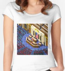 Election US Congress Hall Women's Fitted Scoop T-Shirt