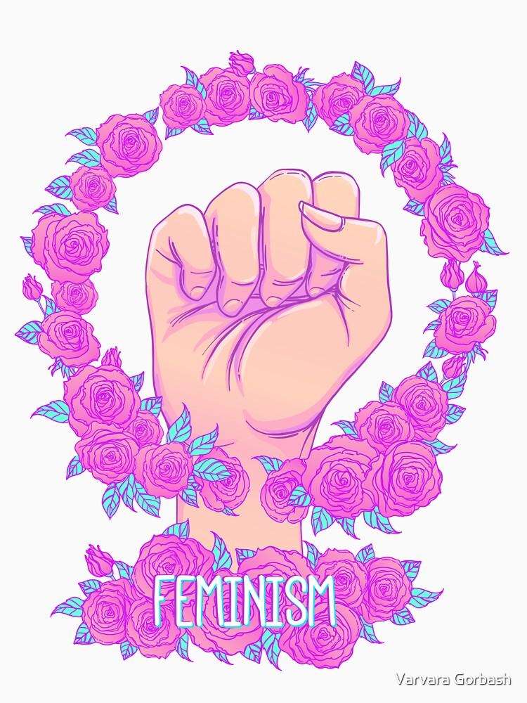 Feminism and Roses by varka