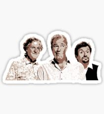 The Grand Tour - Jeremy Clarkson, Richard Hammond and James May Sticker
