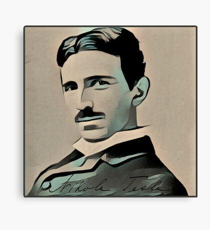 Nikola Tesla  Canvas Print