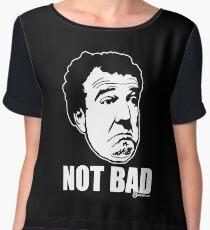 """Top Gear - Jeremy Clarkson """"Not Bad"""" Women's Chiffon Top"""