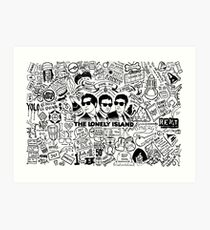 The Lonely Island - Who Said We're Wack Art Print