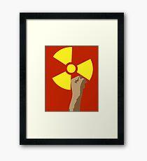 Power of the Atom Framed Print
