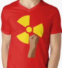 Power of the Atom Mens V-Neck T-Shirt