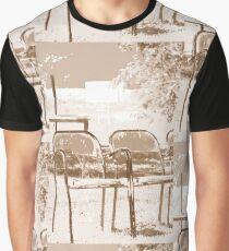 Empty Chairs © Vicki Ferrari Graphic T-Shirt