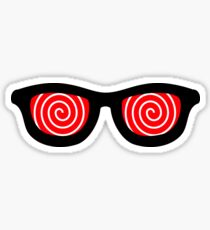 Crazy Eyes Sticker