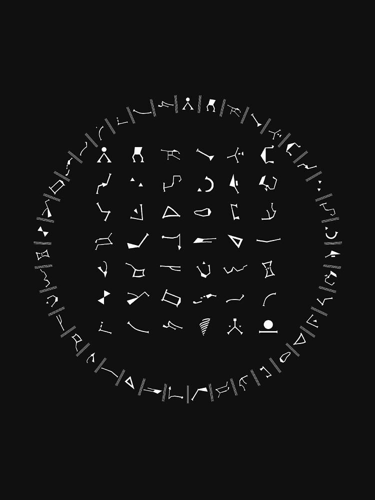 Gate Symbols Unisex T Shirt By Cypherat Redbubble