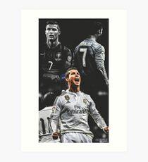 Cristiano Ronaldo Kunstdruck