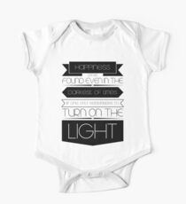 Happiness (Black) Kids Clothes