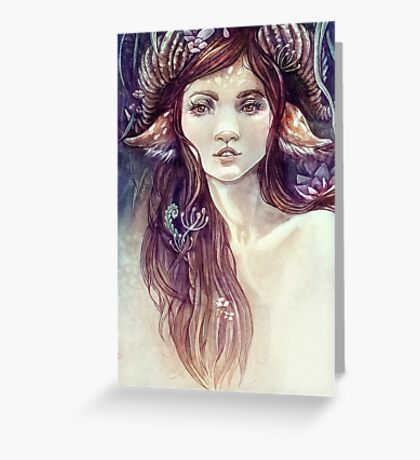 Forest Guardian  Greeting Card