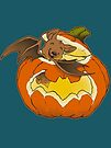 Pumpkin Bat by dooomcat