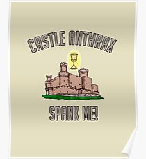 MONTY PHYTHON HOLY GRAIL - CASTLE ANTHRAX - ZOOT AND DINGO Poster