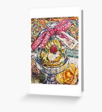 French Pastry Dome Greeting Card