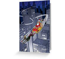 Rudolph the Greyt Greeting Card