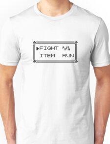 Pokémon Gameboy Menu Unisex T-Shirt