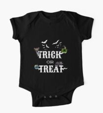 "Halloween ""Trick or Treat"" One Piece - Short Sleeve"
