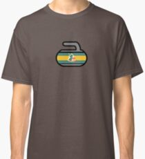 Plainfield Curling Club Clothing, Pillows, Blankets, & Bags by Curling Rockers Classic T-Shirt