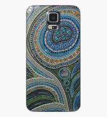 Pfauenfeder Hülle & Klebefolie für Samsung Galaxy