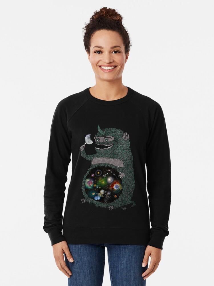 Alternative Ansicht von SPACE JUNKIE Leichter Pullover