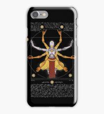 Vitruvian Omnic - color version iPhone Case/Skin
