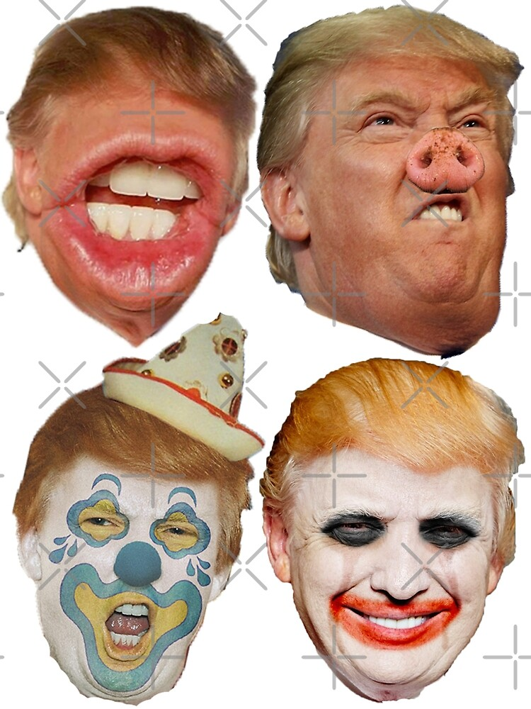 Trump Unhinged 4 pack by Thelittlelord