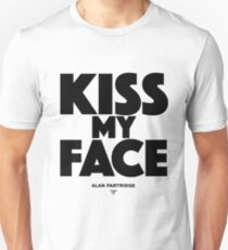 Alan Partridge - Kiss my face T-Shirt