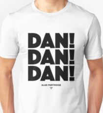 Alan Partridge - Dan! Dan! Dan! T-Shirt