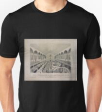 398 North interior view of the New York Post Office located by authority of the Hon Charles A Wicliffe sic post master general And arranged by John Lorimer Graham Esq postmaster Feb T-Shirt