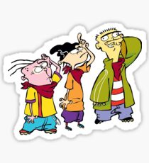 Ed, Edd, and Eddy Sticker