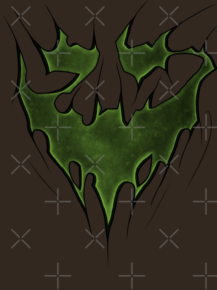 Scarecrow Fear Toxin Bat Symbol Unisex T Shirt By Sgtgrinner