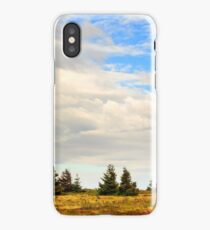 high wild plants at the mountain top iPhone Case/Skin