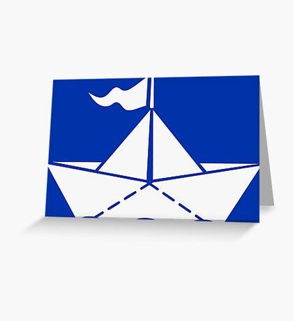 Paperboat VRS2 Greeting Card