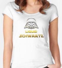 SPACEBALLS LIQUID SCHWARTZ Women's Fitted Scoop T-Shirt